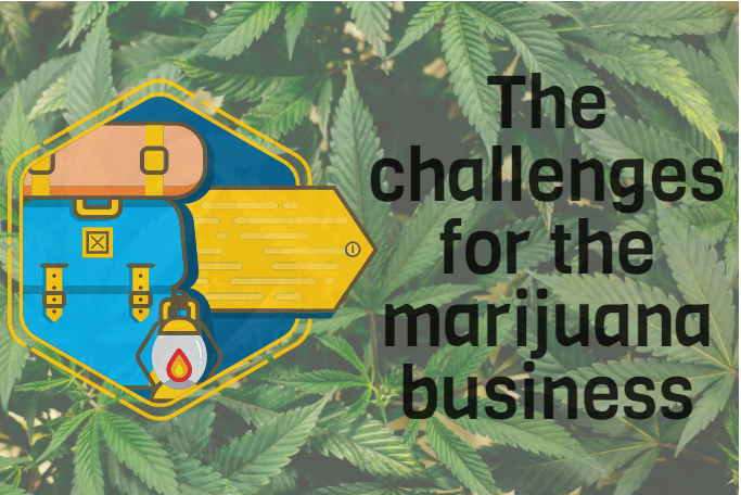 The challenges for the marijuana business